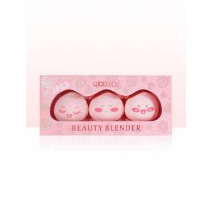 Zaful 3pcs del maquillaje húmedos y secos de Doble Uso de belleza Blender