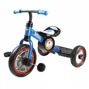 Mini Triciclo BMW Mini Cooper Azul