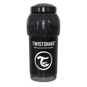 Twistshake Biberón Anti-cólico 180 ml/ 6 oz Negro