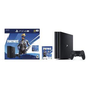 Playstation Consola PS4 Pro 1TB más Paquete Fortnite