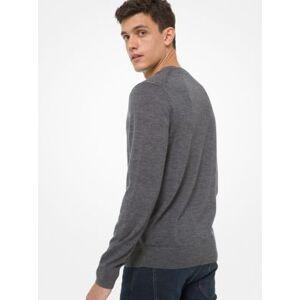 Michael Kors MK Merino Wool Sweater - Ash - Michael Kors