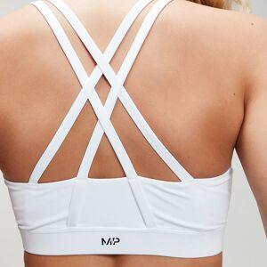 MP Women's Essentials Training Sports Bra - White - XS