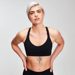 MP Women's Power Mesh Sports Bra - Black - S