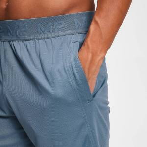 MP Men's Essentials Training Shorts - Washed Blue - XS