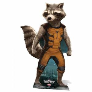 Star Cutouts Marvel Guardians of the Galaxy Rocket Raccoon Cut Out
