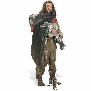 Star Cutouts Star Wars: Rogue One - Baze Malbus Lifesize Cardboard Cut Out