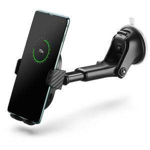 Mixx In-Car Suction Mount Wireless Phone Charger