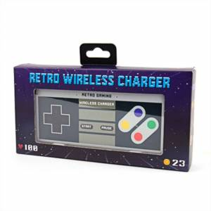 Gift Republic Retro Gaming Wireless Charger