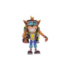 NECA Crash Bandicoot - 7  Action Figure - Deluxe Jetpack Crash