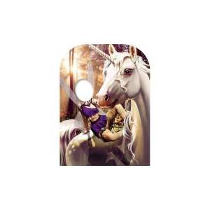 Star Cutouts Unicorn & Fairy Fantasy Land Child Size Stand-in Cardboard Cut Out