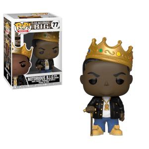 Pop! Vinyl Pop! Rocks Notorious B.I.G with Crown Pop! Vinyl Figure