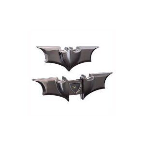 The Noble Collection DC Comics Dark Knight Collasible Desk Clock (Black)