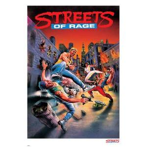 Streets of Rage Limited Edition Giclee Art Print - Timed Sale