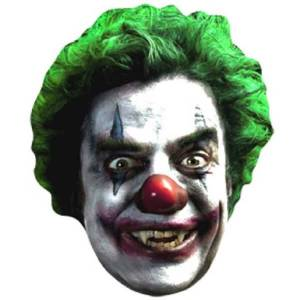 Star Cutouts Clown Face Masks (Multi-Pack)