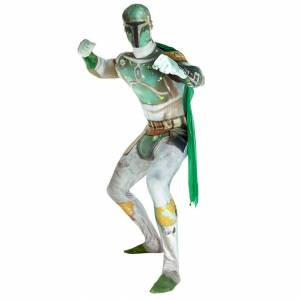 Morphsuits Morphsuit Adults' Deluxe Star Wars Boba Fett - M - Grey