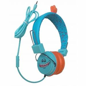 Lazerbuilt Rick and Morty Headphones Mic Meeseeks