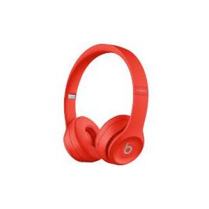 Beats by Dr. Dre Solo3 Wireless Bluetooth On-Ear Headphones - Citrus Red