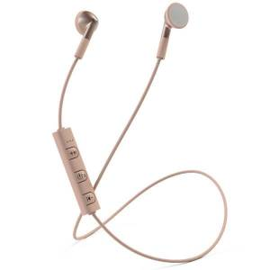 Mixx Classic Fit 1 Bluetooth Wireless Stereo Earphones - Rose Gold