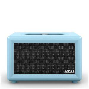 Akai Retro Bluetooth Speaker (2 x 12.5W) - Blue