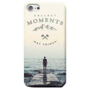 Back To The Future Collect Moments, Not Things Phone Case - iPhone 7 Plus - Snap Case - Matte