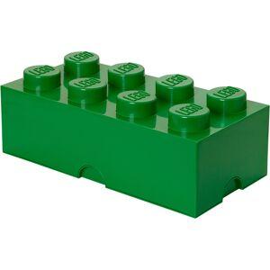 Room Copenhagen LEGO Storage Brick 8 - Dark Green