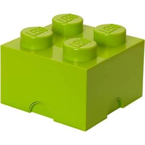 Room Copenhagen LEGO Storage Brick 4 - Light Green