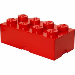 Room Copenhagen LEGO Storage Brick 8 - Red
