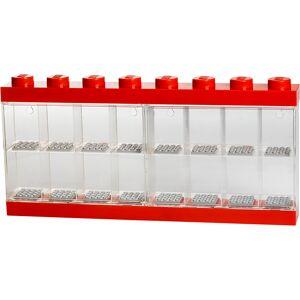 Room Copenhagen LEGO Mini Figure Display (16 Minifigures) - Bright Red
