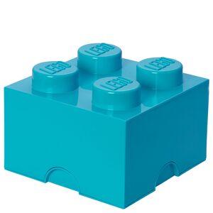Room Copenhagen LEGO Storage Brick Box 4 - Medium Azure