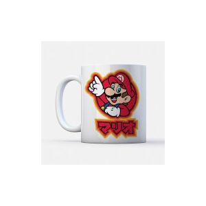 Nintendo Super Mario Mario Kanji Mug