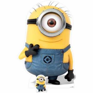 Star Cutouts Despicable Me 3: Minion Carl Smiling Over-Sized Cut Out