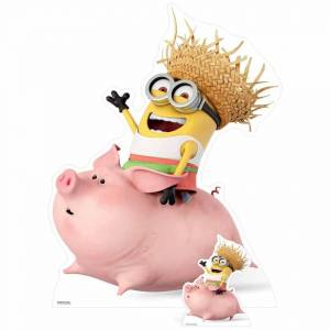Star Cutouts Despicable Me 3: Minion Riding a Pig Over-Sized Cut Out