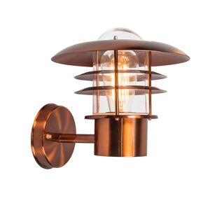 QAZQA Vintage buitenwandlamp koper IP44 - Prato