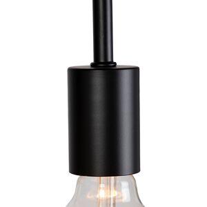 QAZQA Smart vloerlamp zwart incl. WiFi G125 - Facil