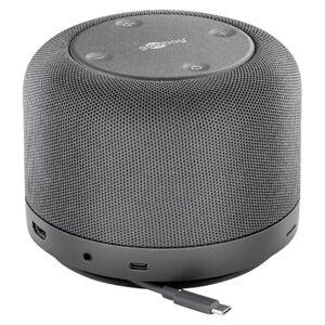 GOOBAY USB-C 12-in-1 Multiport Dock  Draadloos opladen  Voeding 100  Multimedia Speaker  Compact design