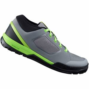 Shimano GR7 MTB Shoes - for Flat Pedals - Blue - EU 40 - Grey/Green