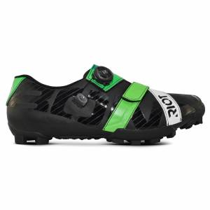 Bont Riot+ MTB Shoes - EU 44.5 - Black/Green