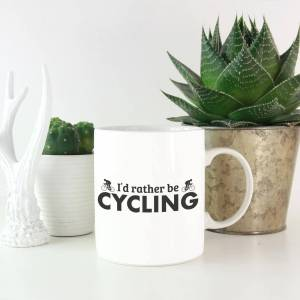 By IWOOT I'd Rather be Cycling Mug