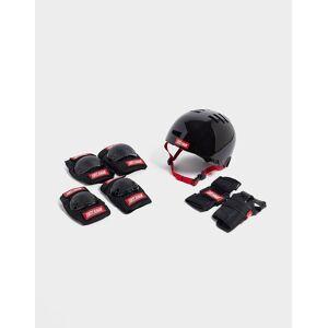 Tony Hawk Signature Series Helmet/Pad Set (4-8yrs) Helm/Knie-, Pols- & Elleboogbeschermers Set Kinderen (4-8 jaar), Zwart