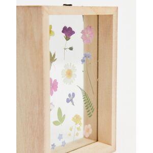 Sass & Belle pressed flowers photo frame-Multi