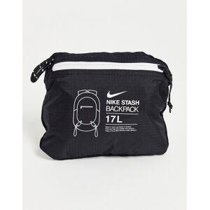 Nike Stash packable lightweight backpack in black