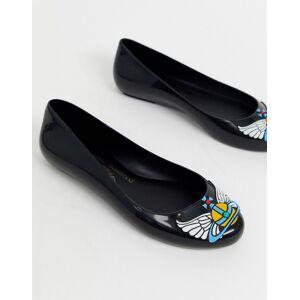 Vivienne Westwood for Melissa flat shoes in black