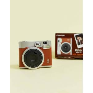Fujifilm Instax Mini 90 instant camera in brown-Multi