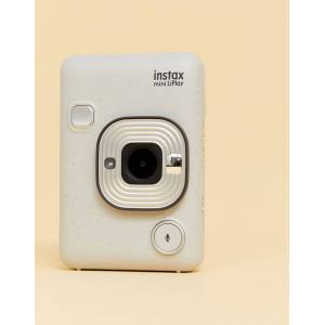Fujifilm instax Mini LiPlay camera in stone white-Multi