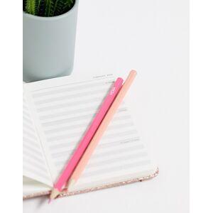 Typo glitter 2020 A6 diary-Multi