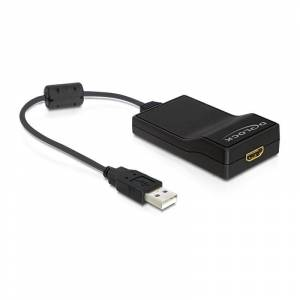 Delock Adapter USB 2.0 to HDMI with Audio