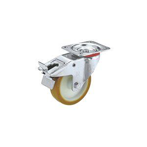Wicke Polyurethaan band op polyamide velg, wiel-Ø x -breedte = 125 x 38 mm, draagvermogen 200 kg Wicke