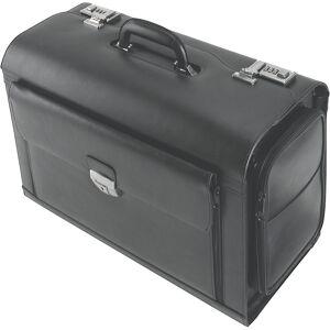 Pilotenkoffer, 5 vakken, 2 zakken aan de zijkant