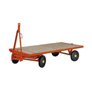 Aanhangwagen, draaischamelbesturing met 2 wielen, laadvermogen 2 t