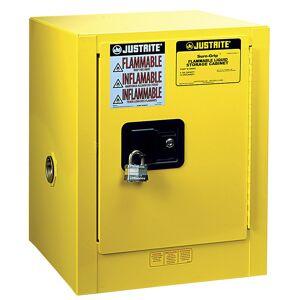 Justrite FM-veiligheidstafelkast, met één deur, handmatig sluitend Justrite